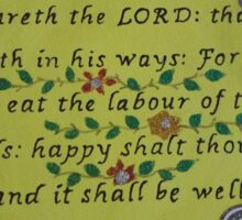 It shall be well Sticker
