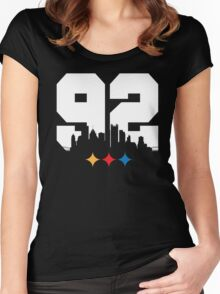 NUMBER OF THE BEAST Women's Fitted Scoop T-Shirt