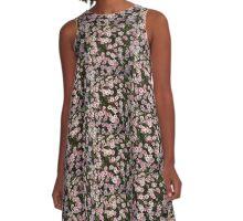 Floral Design A-Line Dress