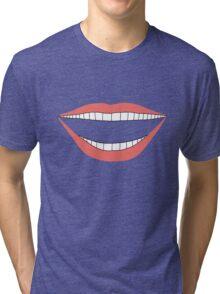 Laughing smile Tri-blend T-Shirt