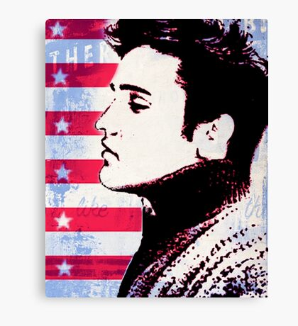 Elvis portrait nº3 Canvas Print