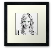 Mrs. Cuoco Framed Print
