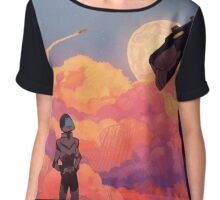 Moon Burn Chiffon Top