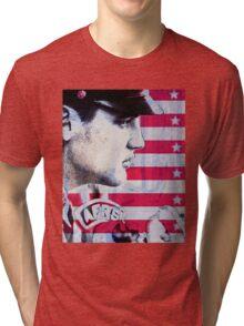 Elvis portrait nº4 Tri-blend T-Shirt