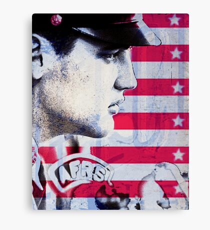 Elvis portrait nº4 Canvas Print