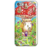 Little Mushroom House iPhone Case/Skin