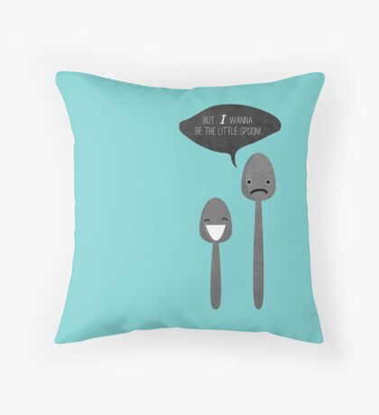Little Spoon Throw Pillow