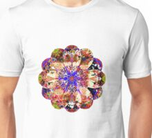Ragged Flower With A Blue Core Unisex T-Shirt