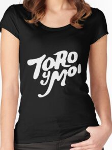 TOR Y MOI LOGO Women's Fitted Scoop T-Shirt