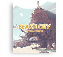 Steven Universe - Beach City's Crystal Temple Canvas Print