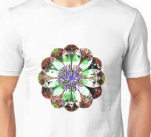 Ragged Flower With Pale Petals Unisex T-Shirt