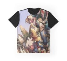 Vivi & Yitan Graphic T-Shirt