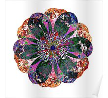 Dark Purple Petals Poster