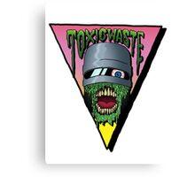 Toxic Waste Robocop Canvas Print