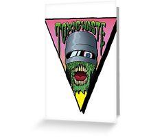 Toxic Waste Robocop Greeting Card