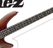Ibanez Bass logo Sticker