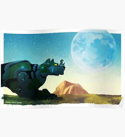 Green Wild Poster