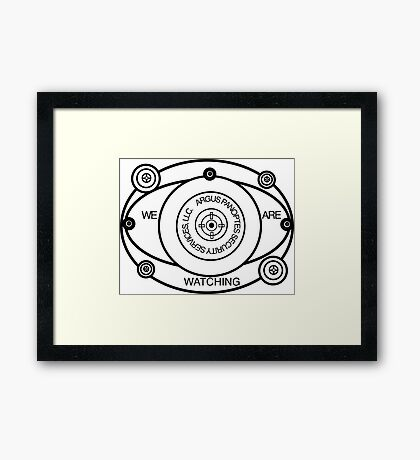 Argus Panoptes Security Services Framed Print