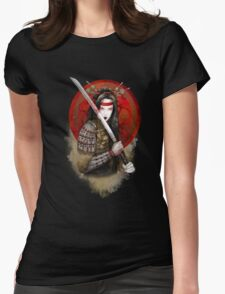 Samurai Geisha - Limited edition Womens Fitted T-Shirt