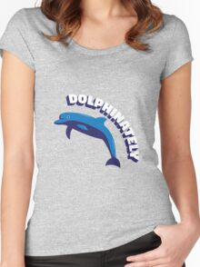 Dolphinately Women's Fitted Scoop T-Shirt