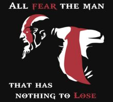 God of War Fear The Man by DnAMcCloud