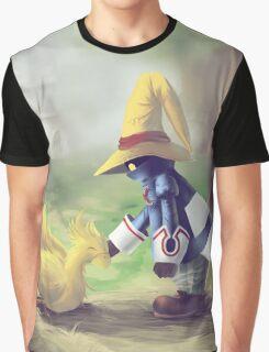 Chocobo & Vivi Graphic T-Shirt