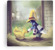 Chocobo & Vivi Canvas Print