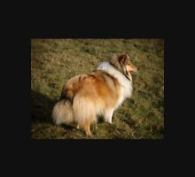 Sable and white rough collie Unisex T-Shirt
