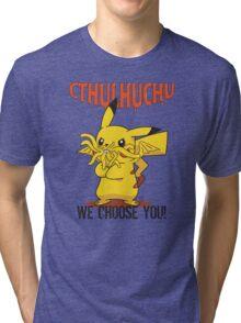 Cthulhuchu Tri-blend T-Shirt