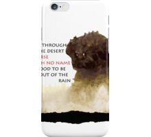 Horse with no name - Colossus iPhone Case/Skin