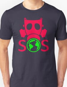 Go Green Mask Unisex T-Shirt