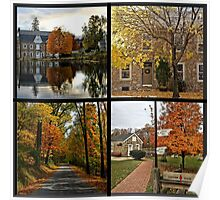 Saucon Valley Fall Poster