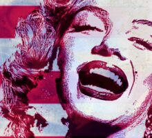Marilyn portrait nº3 Sticker