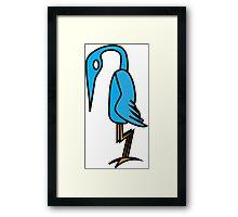 Some Sort Of Bird Framed Print