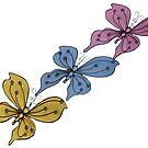Tre Butterfly by Kristina K
