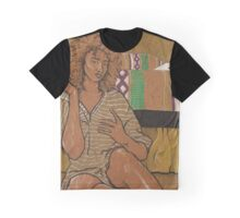 Golden Girl - On Brown Paper Graphic T-Shirt