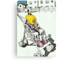 The Lazy Fireman Canvas Print