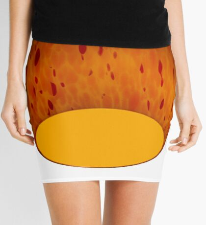 Colored lamphead design Mini Skirt