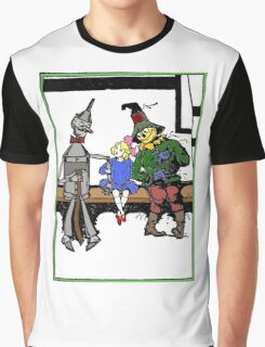 Tin Man, Dorothy, and Scarcrow Graphic T-Shirt
