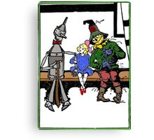 Tin Man, Dorothy, and Scarcrow Canvas Print