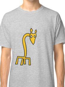 Disturbingly Bad Giraffe Classic T-Shirt