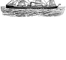 Victorian Era Ship - 1 by cartoon
