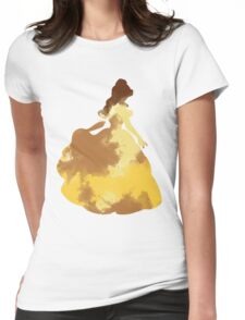 Character Inspired Silhouette  Womens Fitted T-Shirt