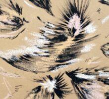 Feather pattern 4 Sticker