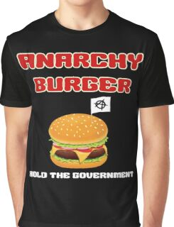 Anarchy Burger Graphic T-Shirt
