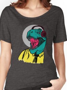 Modern Dino Women's Relaxed Fit T-Shirt