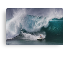 John John Florence At Billabong Pipe Masters In Memory of Andy Irons 2011 Canvas Print