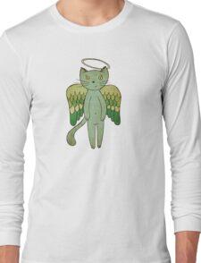 Do good cats go to heaven? Long Sleeve T-Shirt