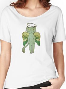 Do good cats go to heaven? Women's Relaxed Fit T-Shirt