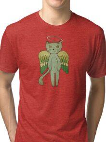 Do good cats go to heaven? Tri-blend T-Shirt